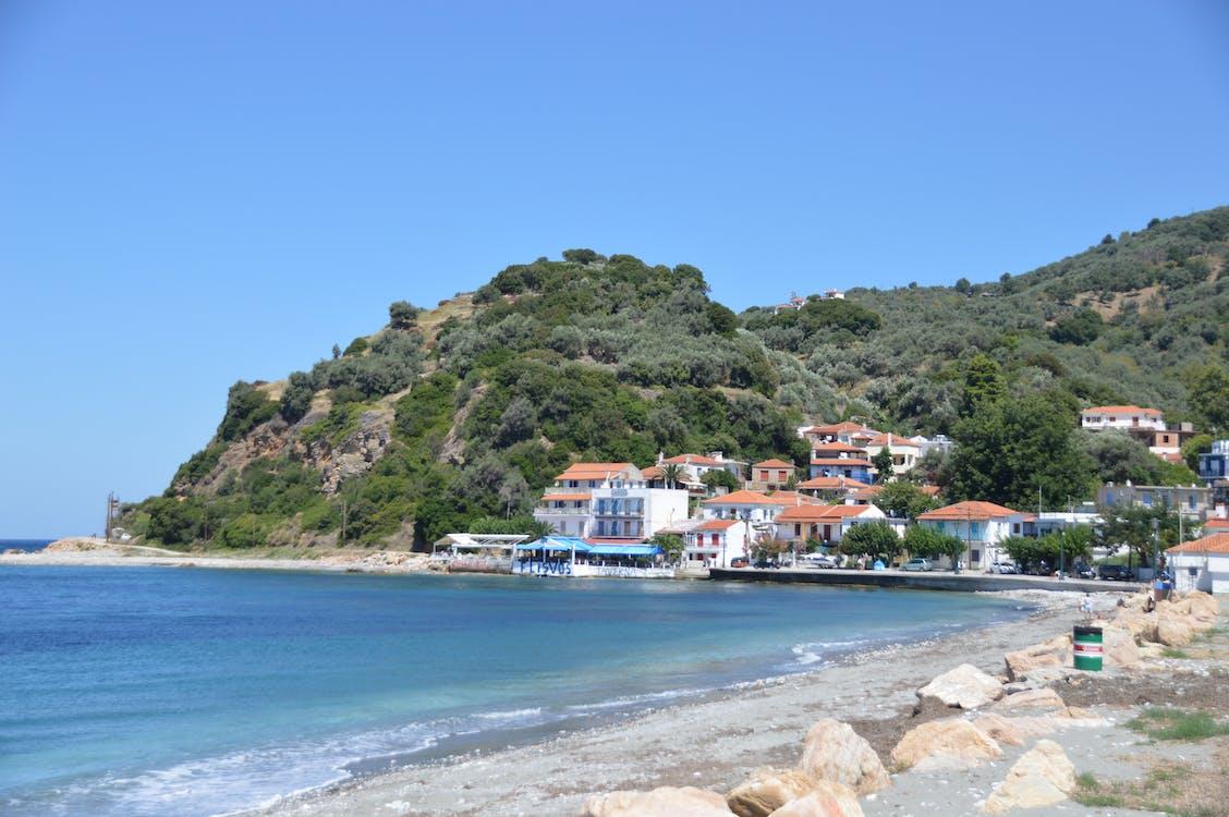 Free stock photo of aegean, greece, loutraki harbour