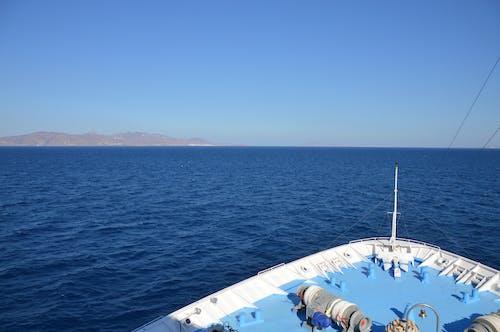 그리스, 푸른 바다, 항해하는의 무료 스톡 사진