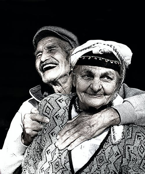 Free stock photo of couple, old people