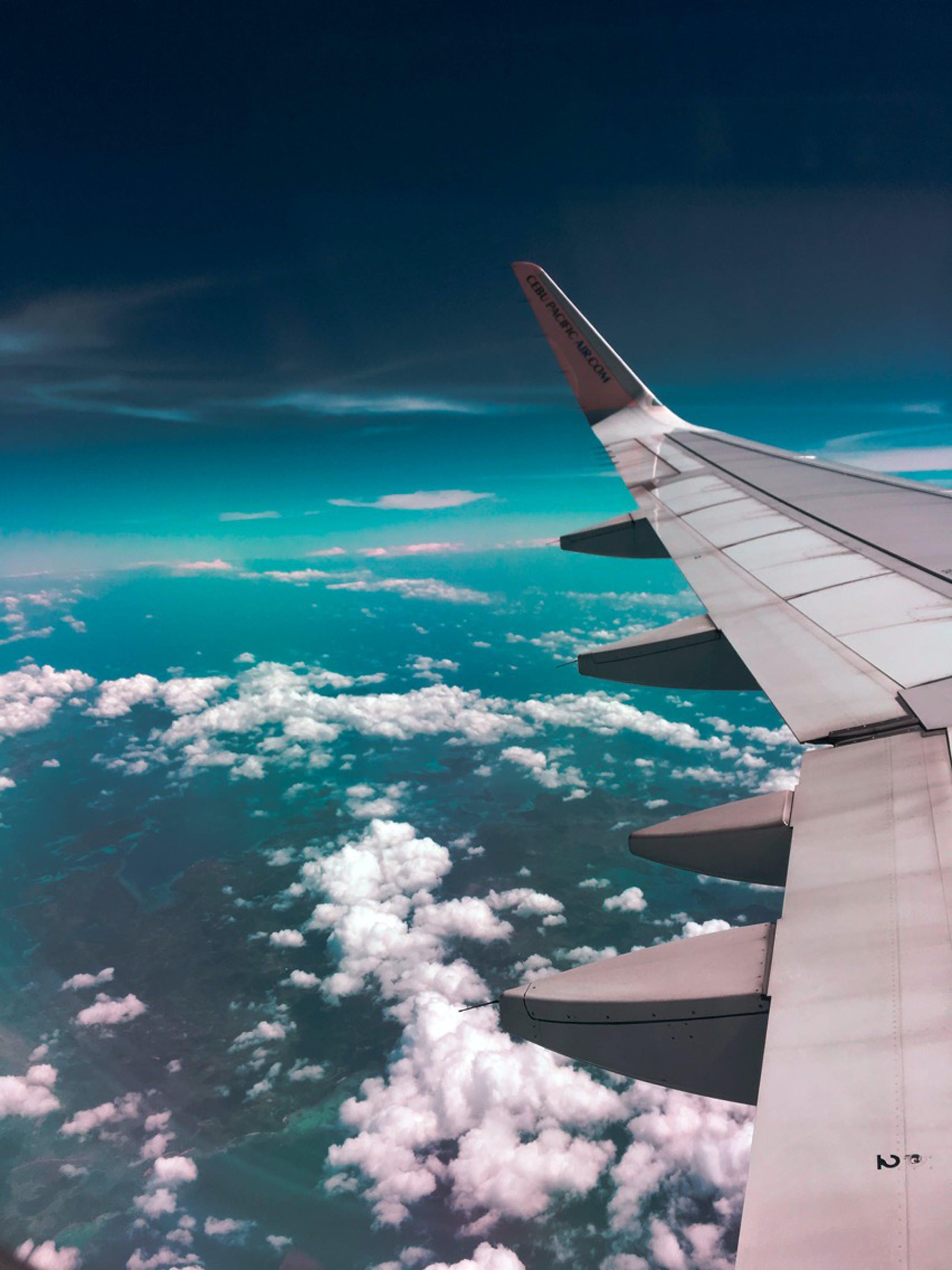 Foto d'estoc gratuïta de acer, aigua, ala, aviació