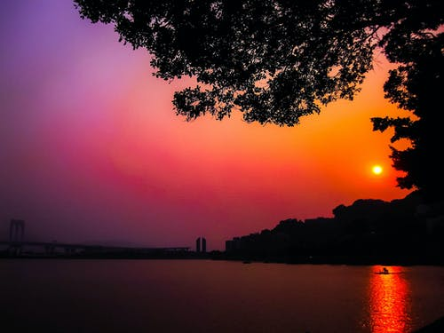 Free stock photo of fire, orange, red sky
