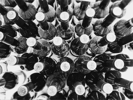 Black Wine Bottles