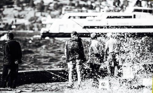 Fotobanka sbezplatnými fotkami na tému rybár