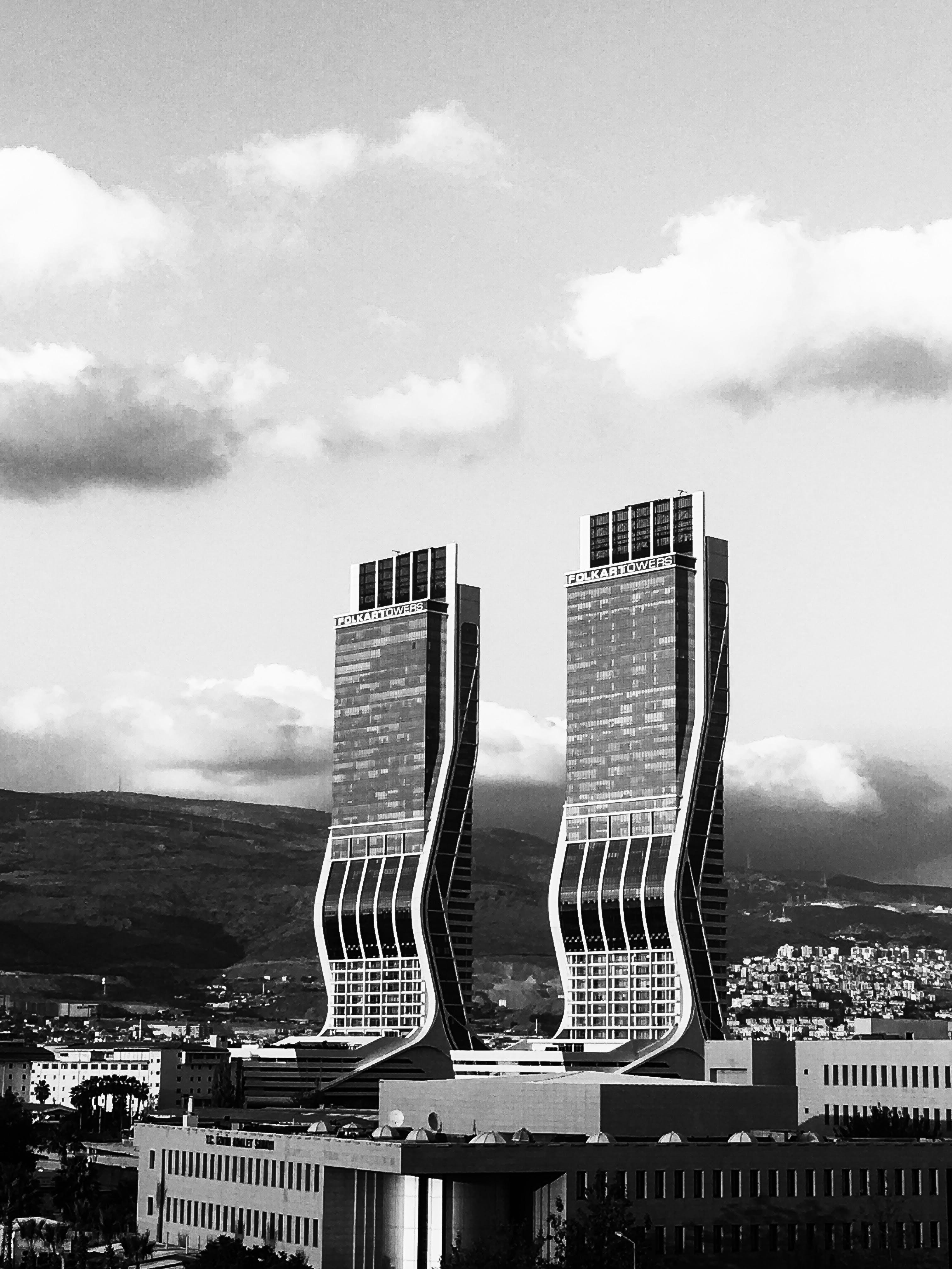 シティ, スカイライン, タワー, ダウンタウンの無料の写真素材