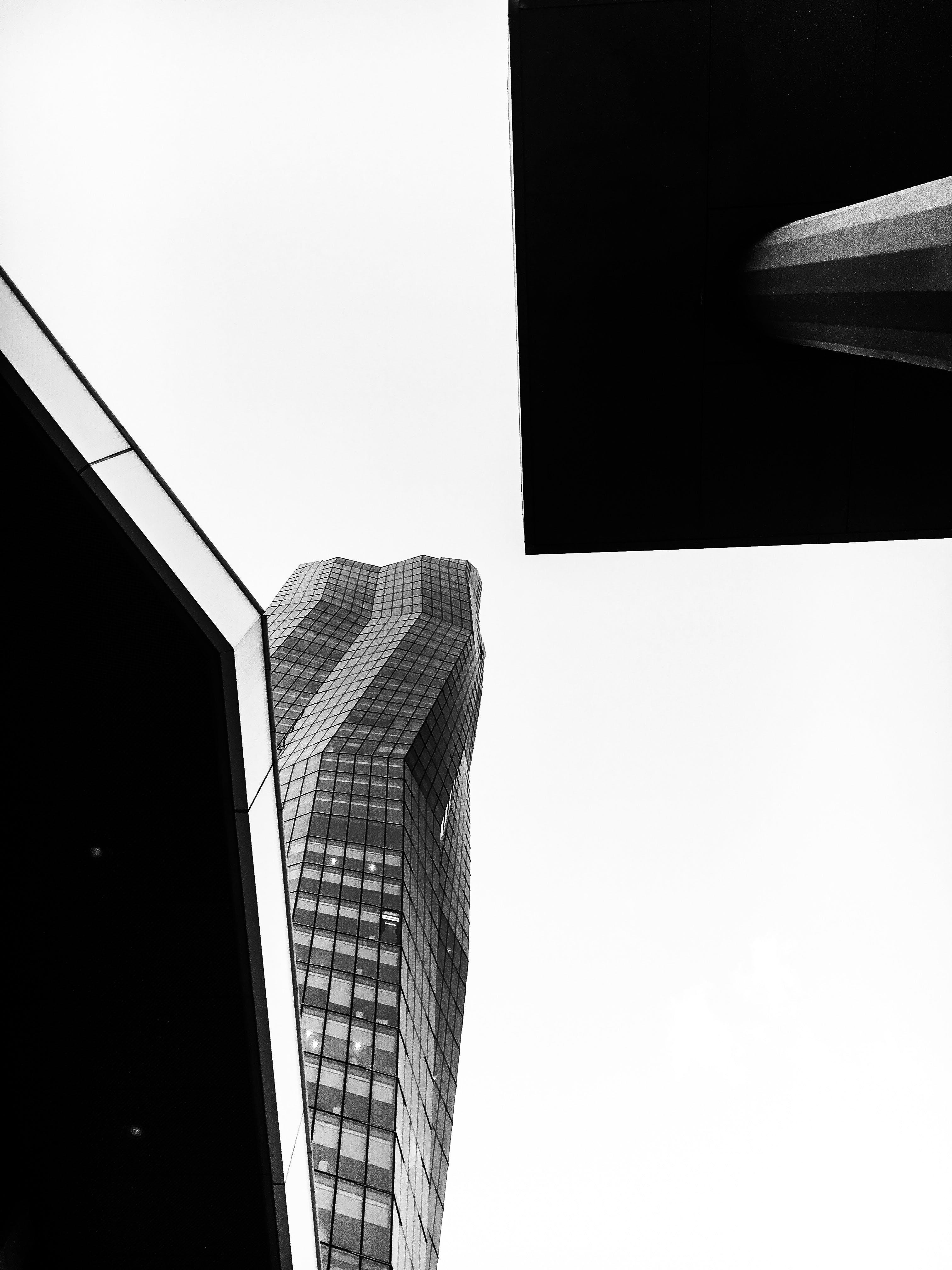 アート, ガラス窓, コンテンポラリー, タワーの無料の写真素材