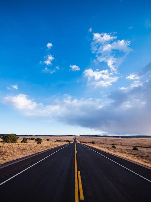 Free stock photo of blue, blue sky, desert landscape