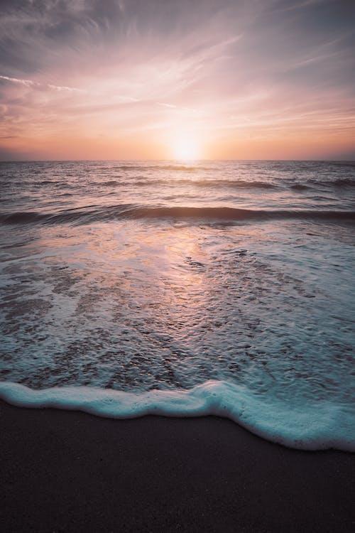 Free stock photo of beach, dawn, early sunrise