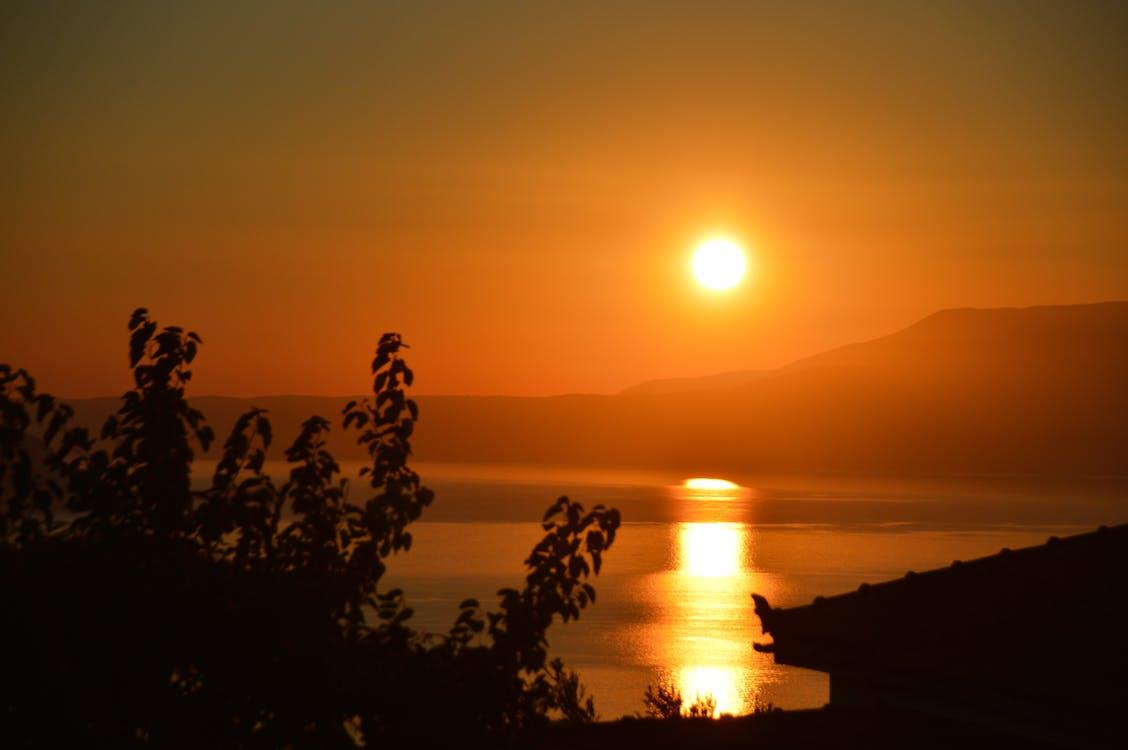 Darmowe zdjęcie z galerii z grecja, zachód słońca w skopelos