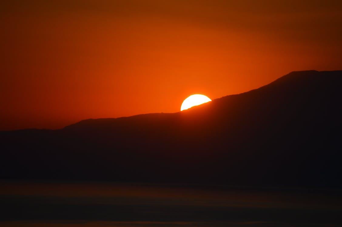 คลังภาพถ่ายฟรี ของ กรีซ, พระอาทิตย์ตกที่ skopelos