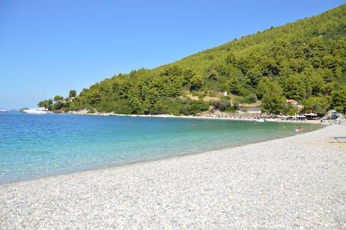 panormos 마을, 그리스, 스코 페 로스 섬의 무료 스톡 사진