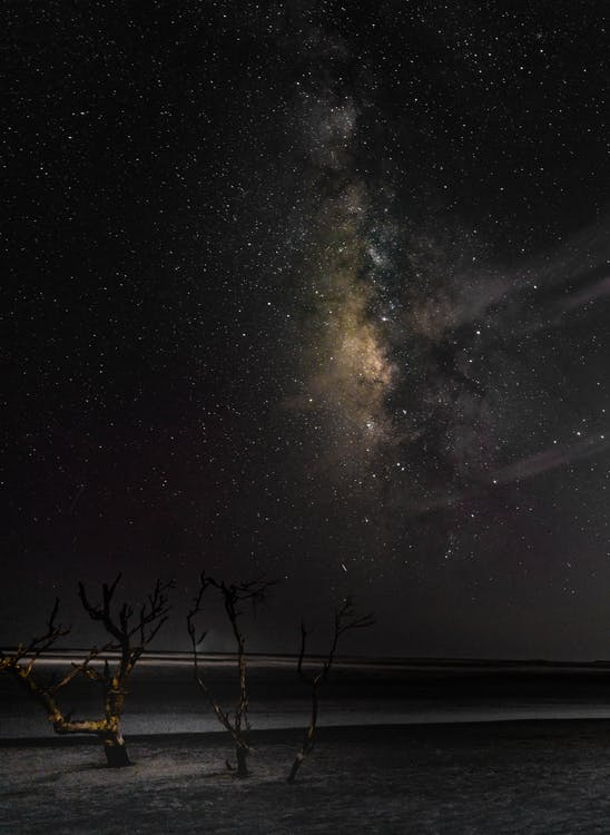 astronomie, hvězdná obloha, hvězdný