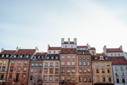 Tenement Buildings In Warsaw