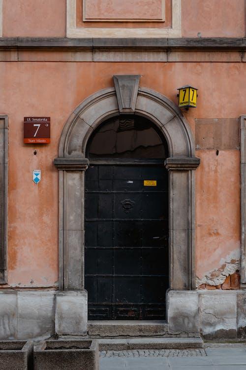 アーチ型, エントランス, ドアの無料の写真素材