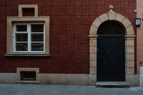 Black Iron Door And Window