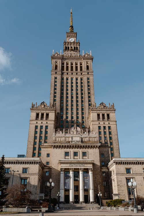 Palace Of Culture And Science In Poland