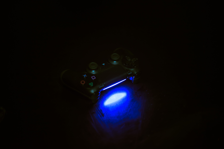 Free stock photo of light, dark, controller, playstation