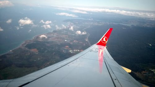 Free stock photo of airplane, cloud, cloudy sky, Istanbul