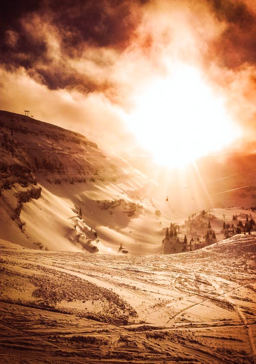 chaesserrugg, 吐根堡, 太陽, 滑雪 的 免费素材照片