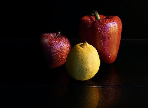 Red Bell Pepper Red Apple Lemon Citrus