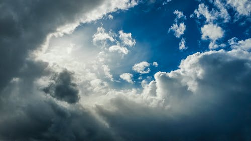 Foto stok gratis alam, awan, bagus, bentangan awan