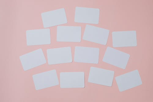 White and Pink Heart Shape Paper