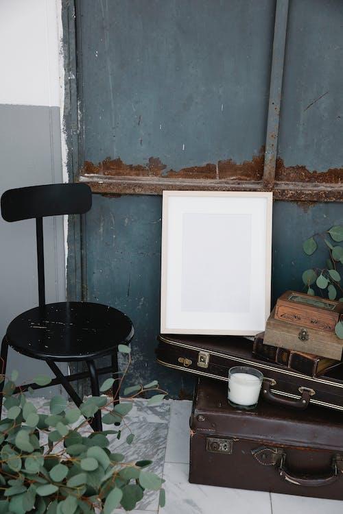 Immagine gratuita di angolo alto, arredamento, candela