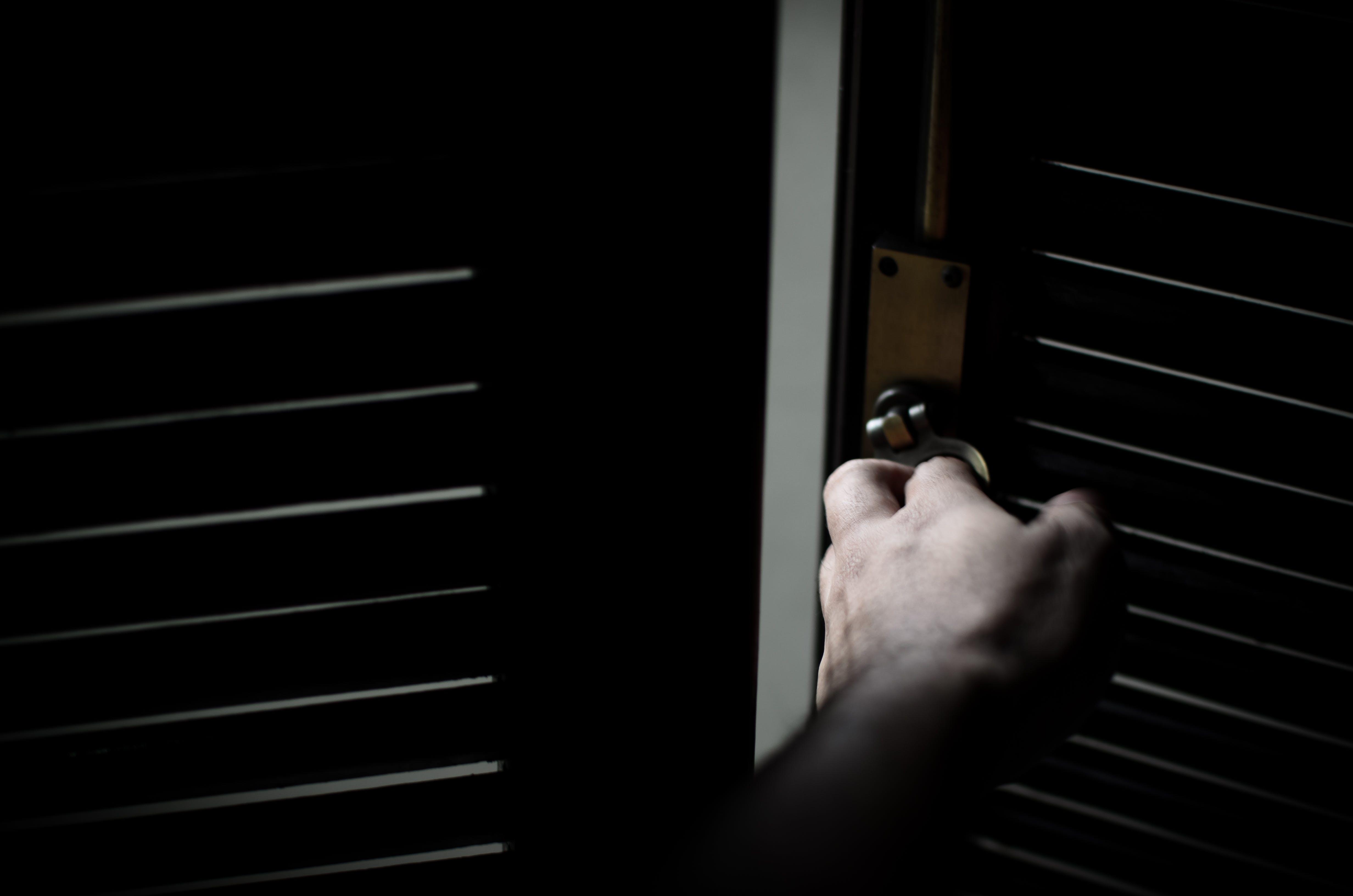 Free stock photo of door, handle, closing