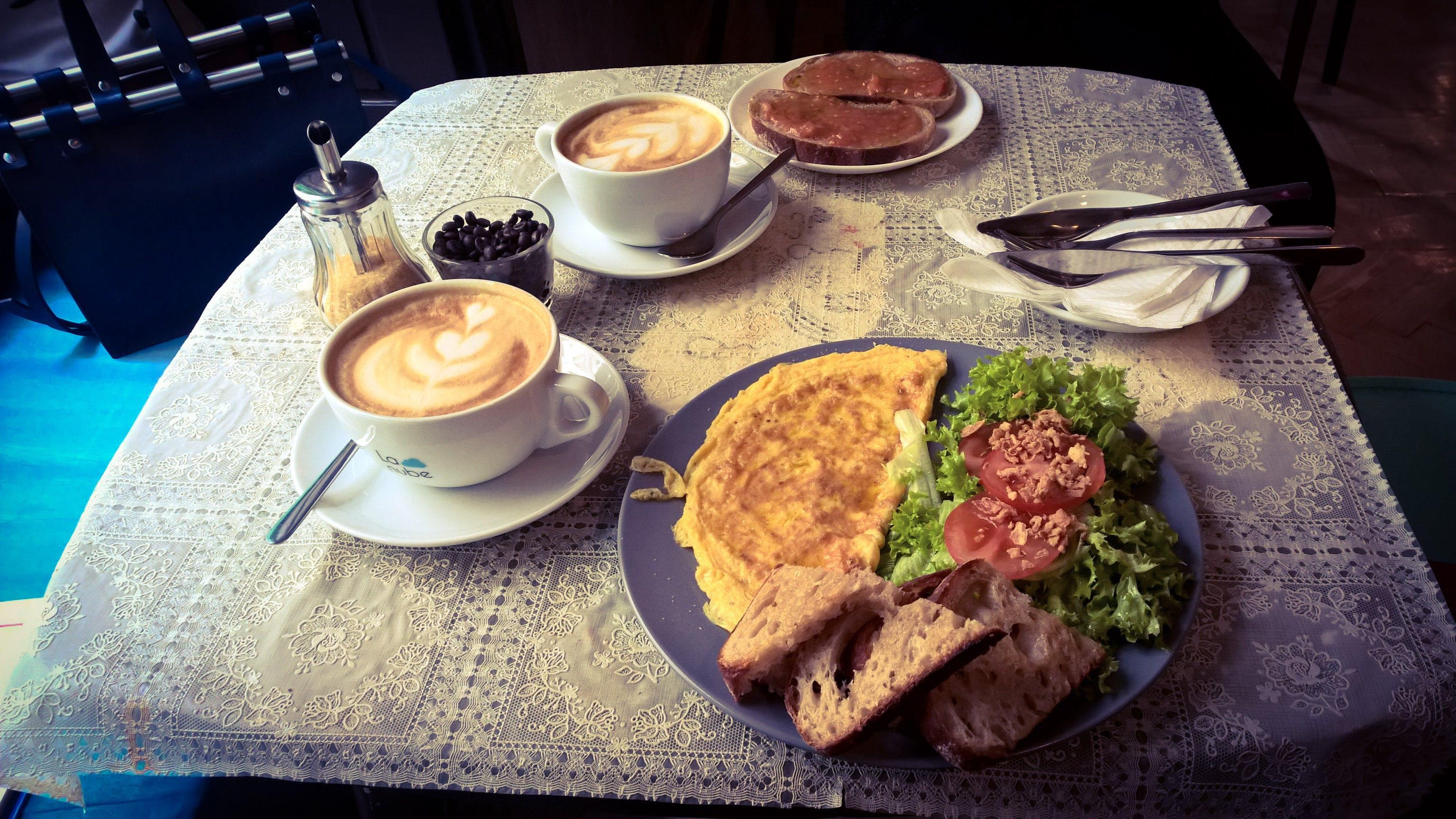 breakfast, Budapest, coffee