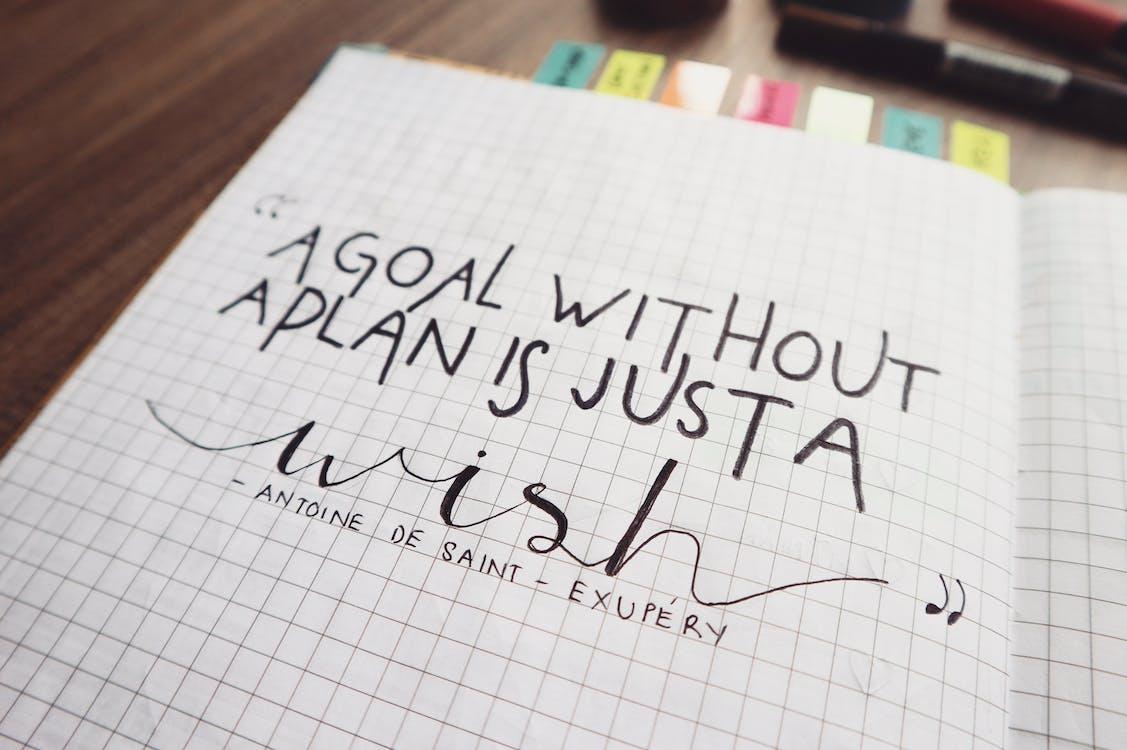 bullet journal, pen, quotes