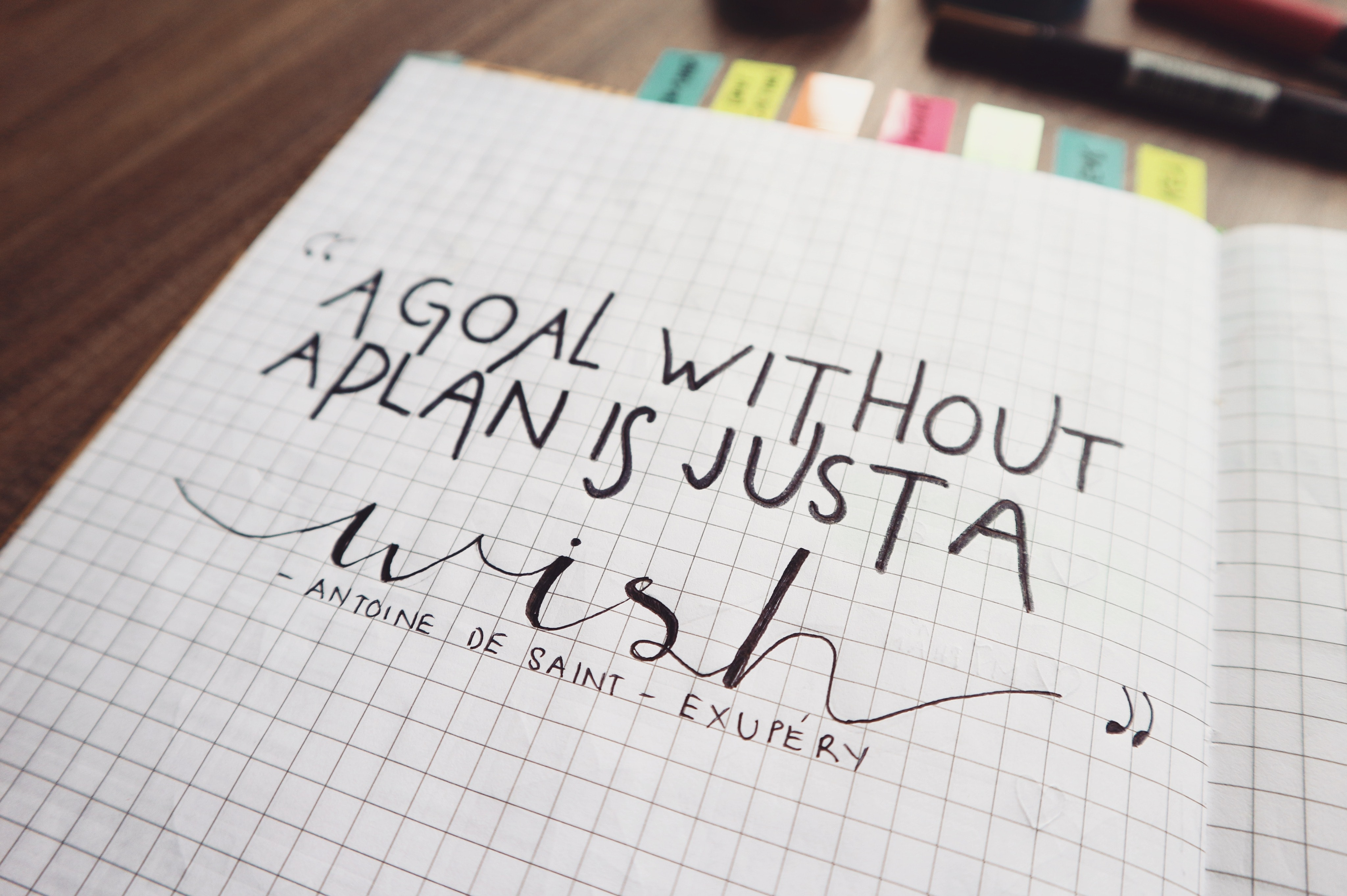 Free Stock Photo Of Bullet Journal Pen Quotes