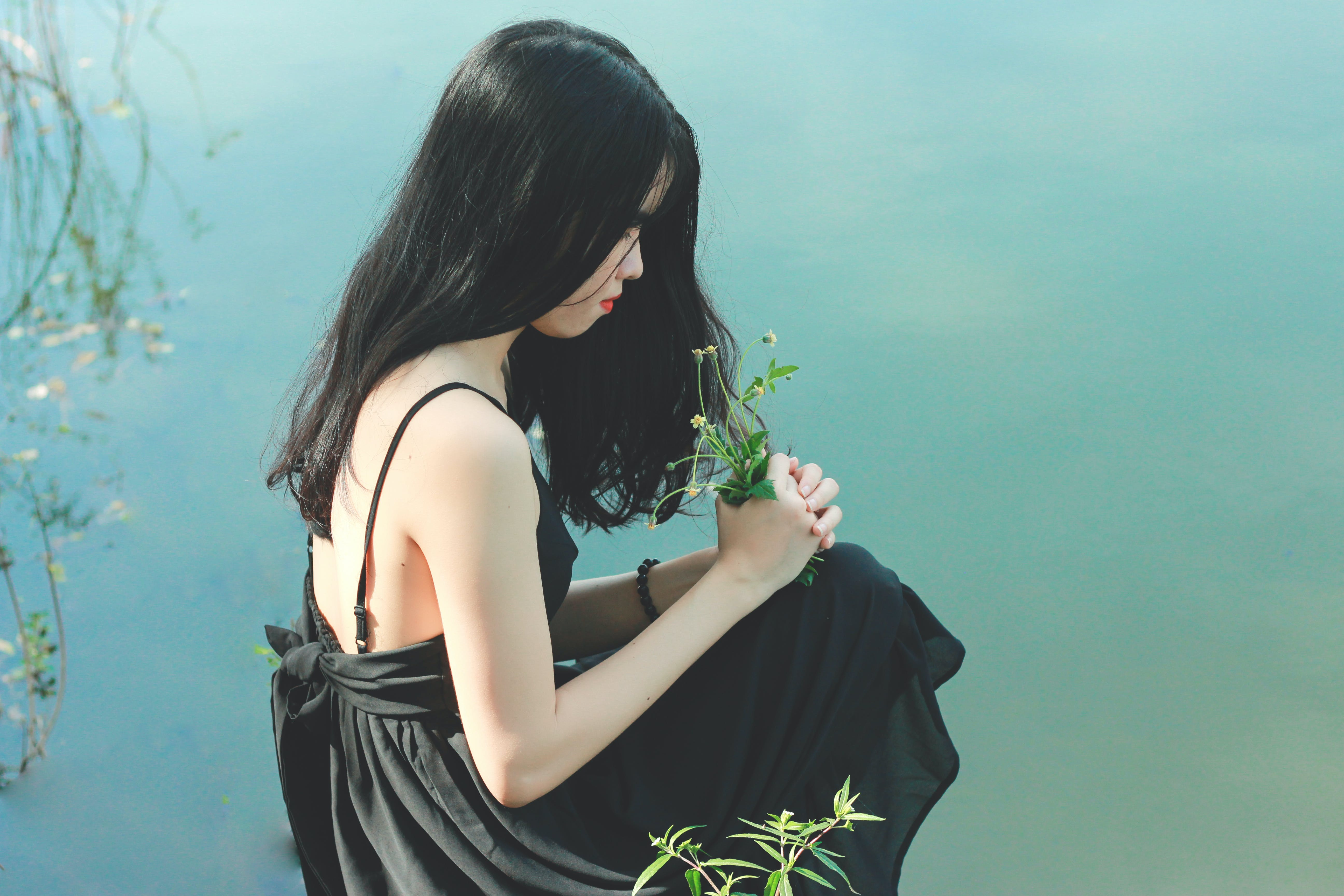 Gratis lagerfoto af blomster, dagslys, fotosession, frisure