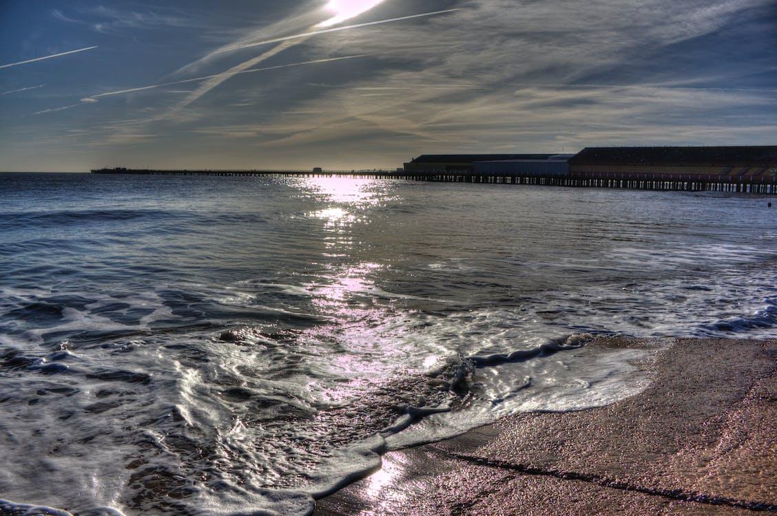 Free stock photo of coast, essex, pier