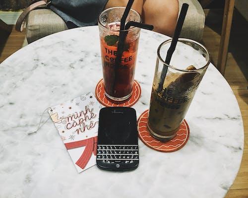 Immagine gratuita di bevanda, biglietto, blackberry, carta