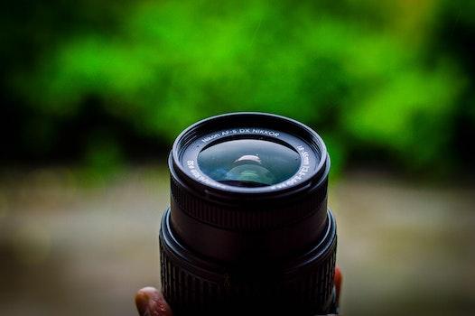 Shallow Focus Photography of Camera Lens