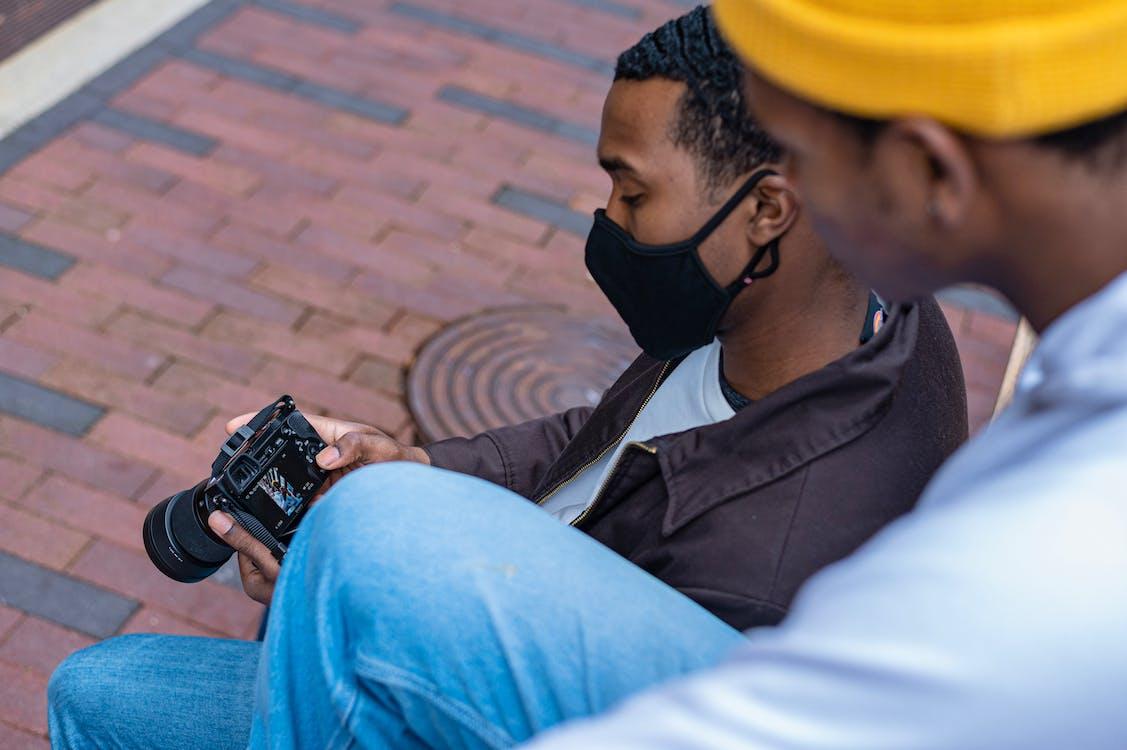 Free stock photo of black, black men, black model
