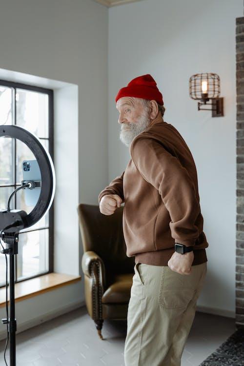 Kostenloses Stock Foto zu alte person, alter mann, bart