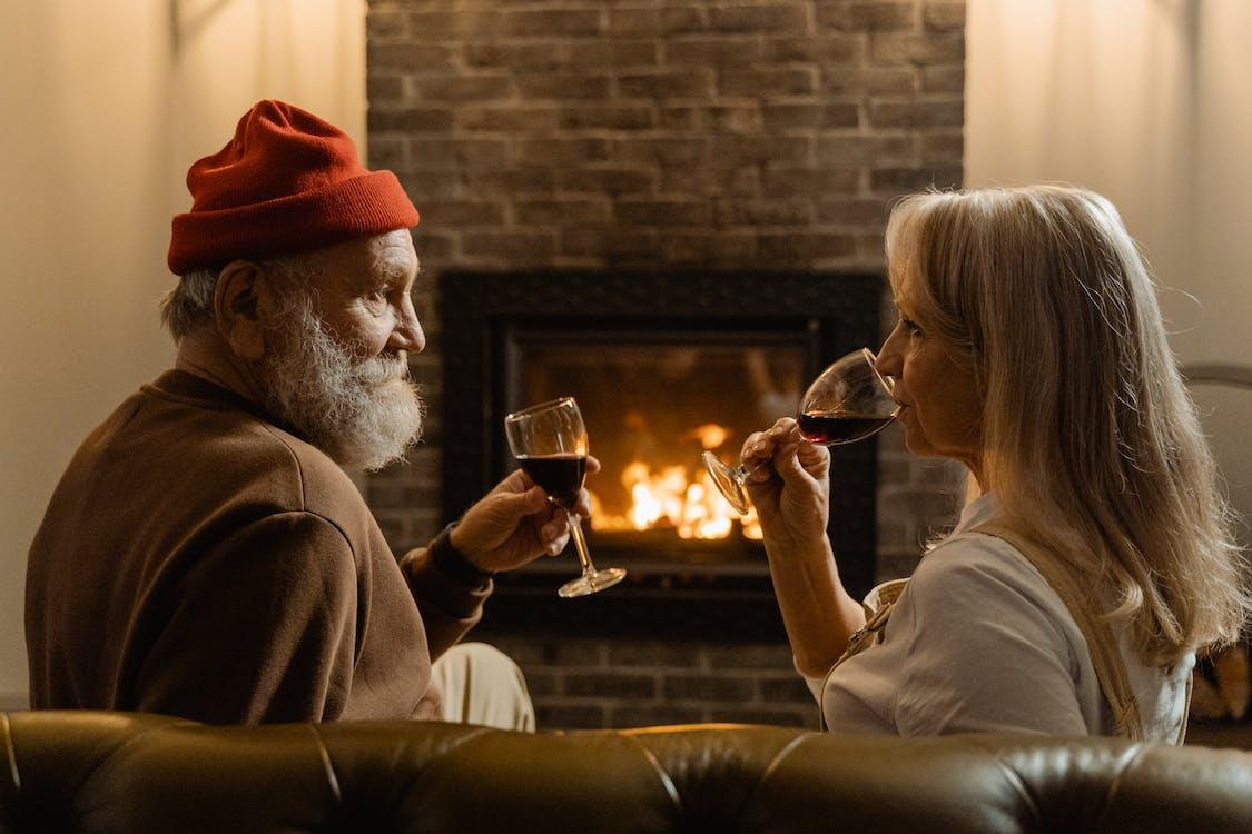 Immagine gratuita di accogliente, anziano, bevande
