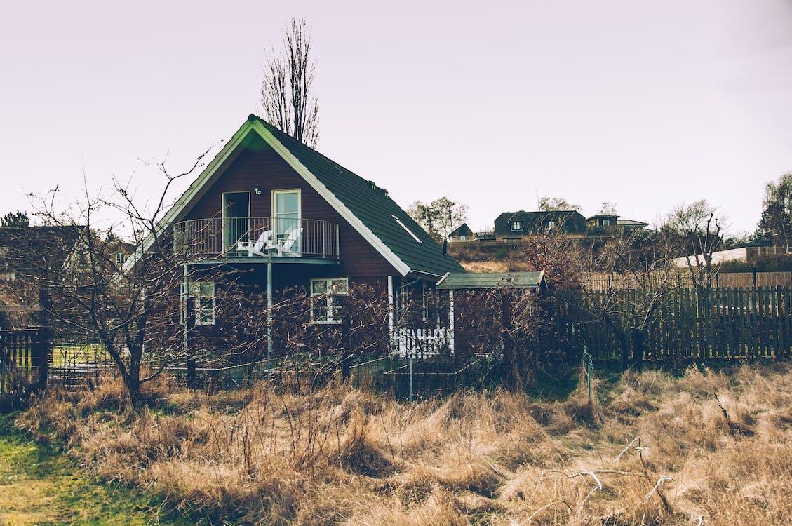 Základová fotografie zdarma na téma červený dům, dánsko, moře