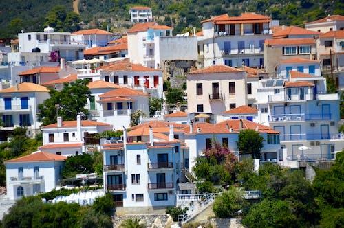 Free stock photo of greece, Skopelos Island, village
