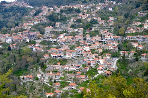 Free stock photo of greece, peloponnese, village