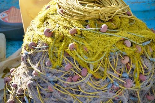 Free stock photo of fishermen, greece, net