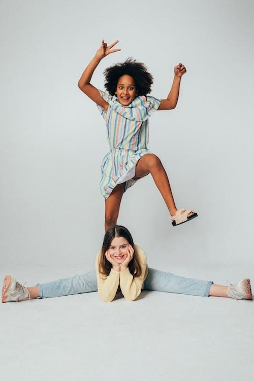 女孩, 孩子, 幸福 的 免费素材图片