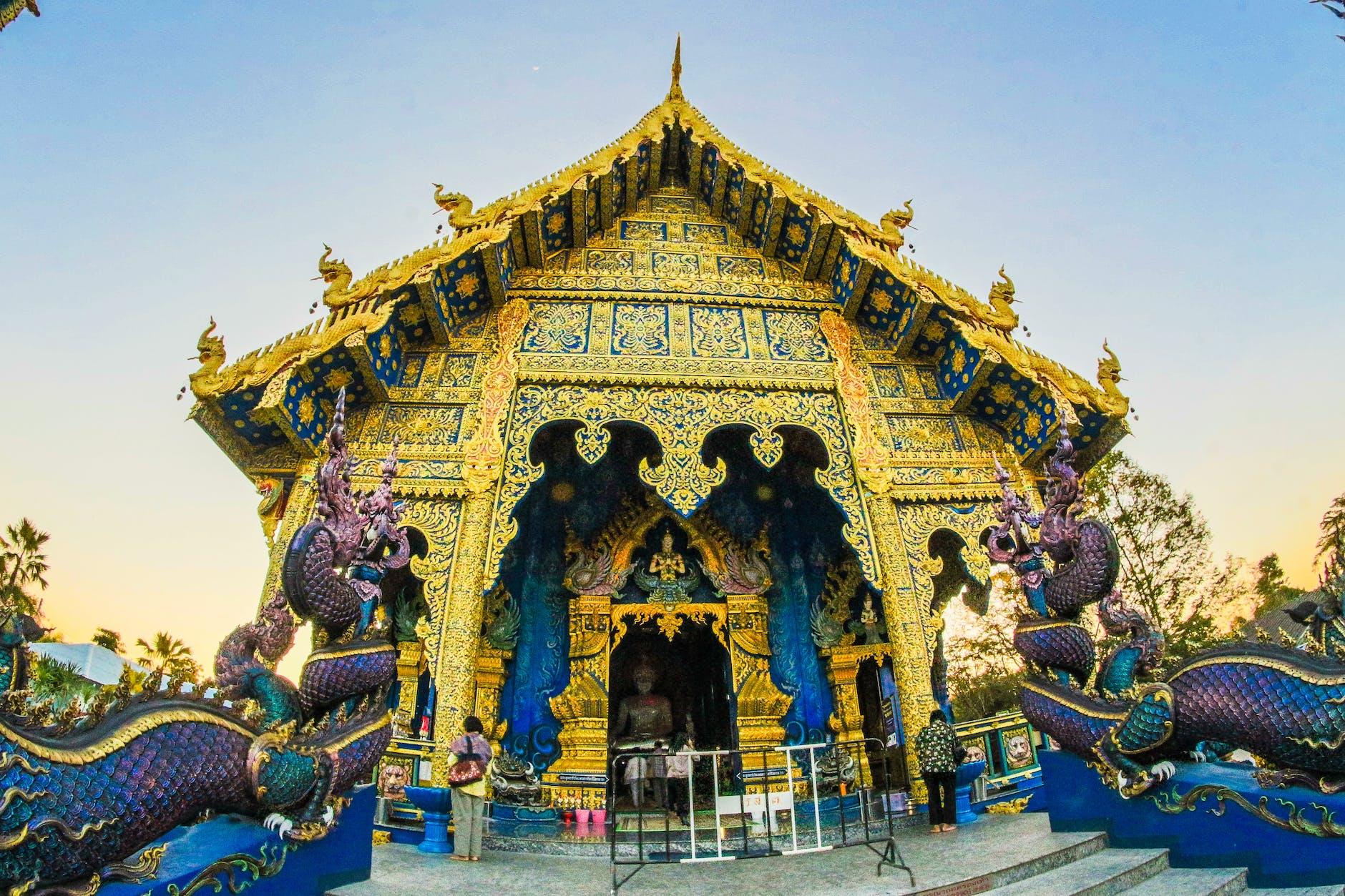 A temple in Chiang Rai
