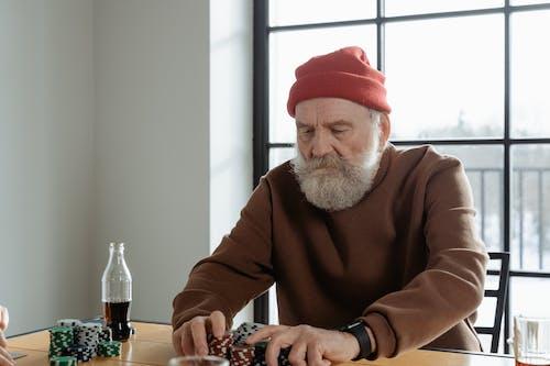 あごひげ, おじいちゃん, お年寄りの無料の写真素材