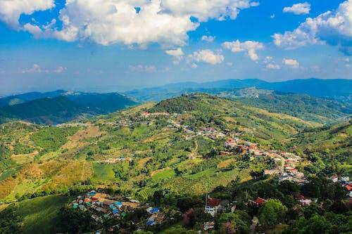 Бесплатное стоковое фото с архитектура, вид, голубой, горы