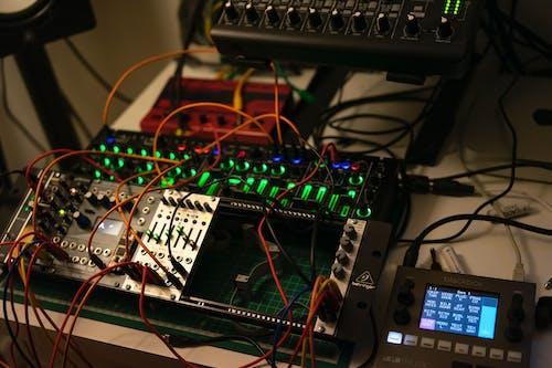 Free stock photo of electronics, modular synth, modulation