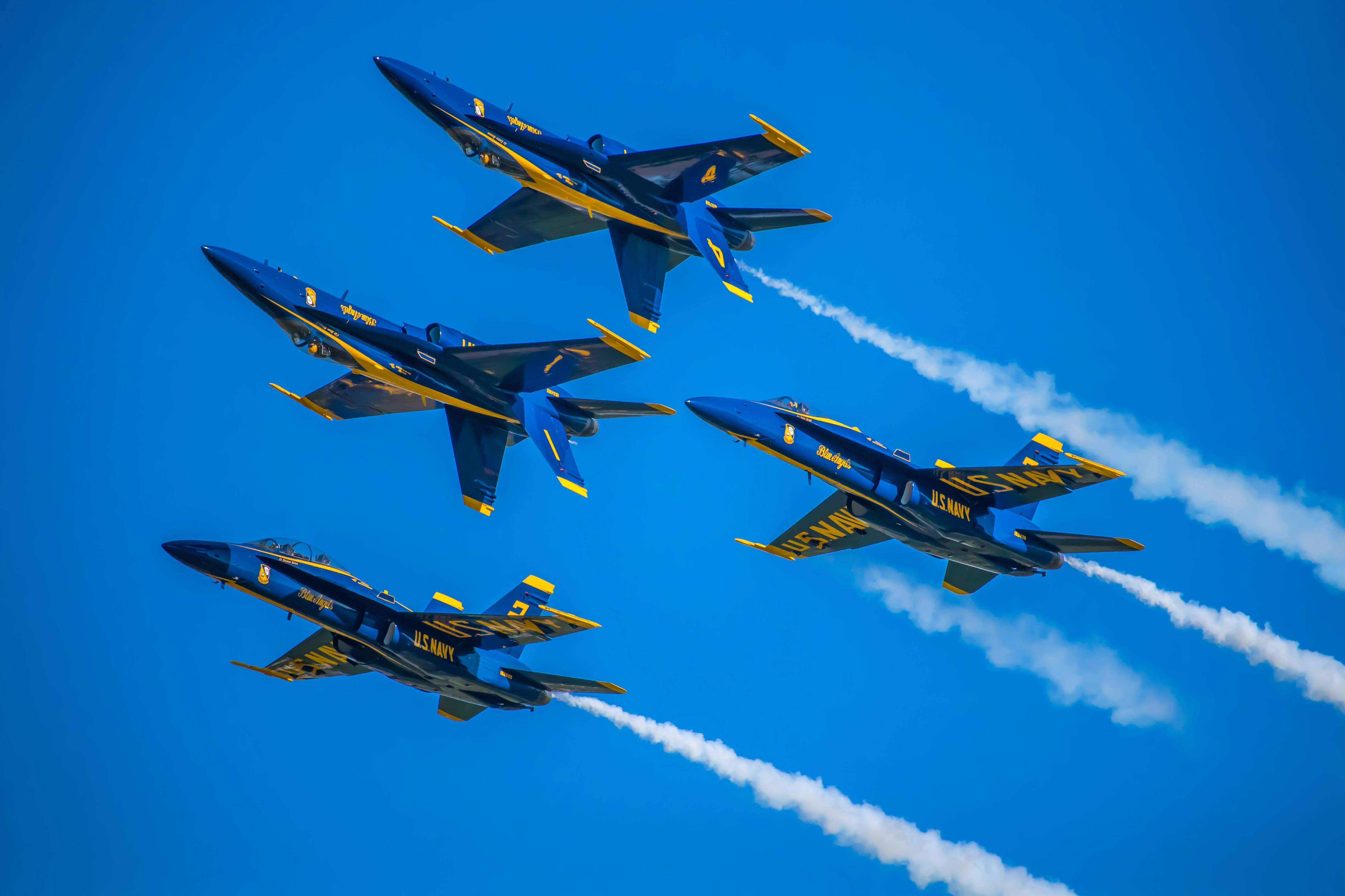 Δωρεάν στοκ φωτογραφιών με aviate, αεροπλοΐα, αεροπορική επίδειξη, αεροσκάφη