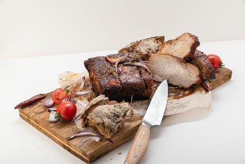 Darmowe zdjęcie z galerii z chleb, danie, drewno