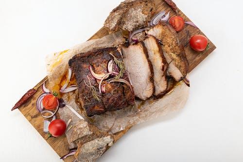 Darmowe zdjęcie z galerii z barbecue, cebula, chleb