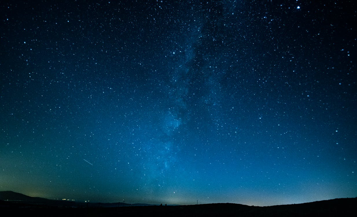 galaxy, skyscape, αστέρια